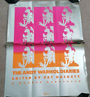 The Andy Warhol Diaries: Promotional Poster Shiny Mylar Limited Edition 1988