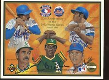 1993 Upper Deck Authenticated Autographed Photo w/ 5 sigs Millan, Williams, Blue