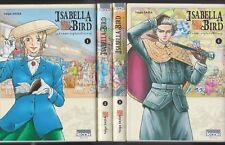 ISABELLA BIRD femme exploratrice tomes 1 à 4 Taiga Sassa SERIE Manga seinen