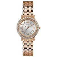 Guess Women's Rose Gold Tone Stainless Steel Blush Quartz Watch W1062L3