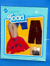 Vintage Tutti TODD European Fashion WARM ANGEZOGEN Dressed Warm #9482 NRFB RARE