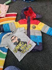 Estilo Gangnam chicos Abrigo y T Shirt