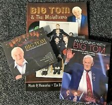 Big Tom The Pleasure Was Mine Gift Pack 2CD/DVD/26 Page Music & Memories Booklet