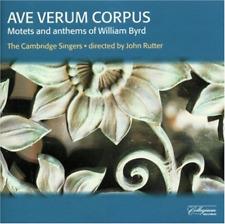 Byrd - Ave Verum Corpus  CD NEW
