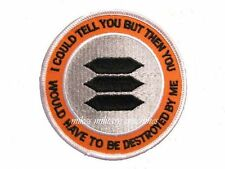 Black Ops Area 51 I Could Tell You Have To Be Destroyed Book Series Cover Patch