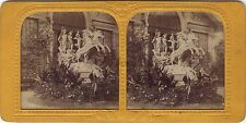 Sculpture Section belge Belgique Exposition Stéréo Diorama Stereoview Tissue