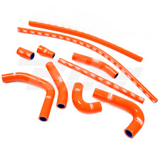 SAMCO SET MANCHON TUYAUX RADIATEUR ORANGE KTM SMC 660 2003-2006
