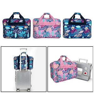Sewing Machine Carry Bag Sew Machine Tote Universal Pockets Carrying Case
