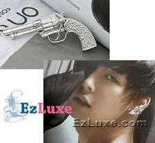 Korean Tohoshinki DBSK TVXQ Micky Yoochun Gun Earring long 2 pin style