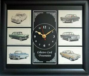Ford Zephyr Collectors Card Wall Clock - Stunning Artwork **