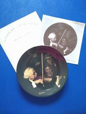 New ListingNorman Rockwell The Master Violinist Heritage Collection Plate 1996 Knowles Box