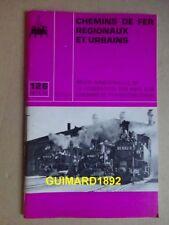 Chemins de fer régionaux et urbains n°126 décembre 1974 Tramways de la Baule