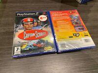 Captain Scarlet PS2 Versiegelt Neu IN Spanisch