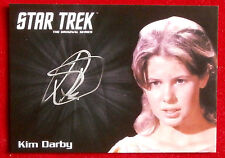 STAR TREK TOS 50th KIM DARBY as Miri, LIMITED EDITION Autograph Card