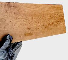 """Roasted Birdseye Maple 🍁 🎸Fretboard Top Lumber Sanded Bass Wide .3""""x7.7""""x30"""""""