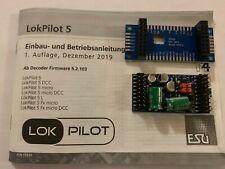 +++ ESU 59315 LokPilot 5L DCC/MM/SX/M4, Stiftleiste mit Adapter, Spurweite 0,G,I