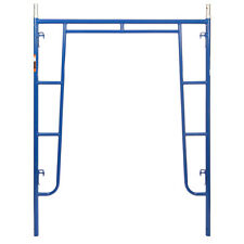 "5' x 6'4"" Section of Blue Heavy Duty Scaffold - Walk Thru Scaffold Package"