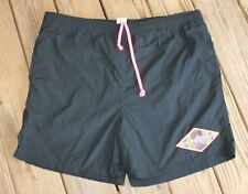 Gotcha Size 36 Black Neon Mesh Lined Swim Board Surf Shorts 90's Surf (BJ)