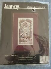 Janlynn Chivalry Counted Cross Stitch Kit #80-258 9