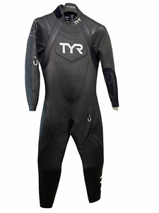 TYR Mens Full Triathlon Wetsuit Size Medium Hurricane Cat 2 - Retail $649
