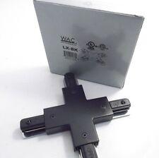 WAC LX-BX X Connector- L Series - Black - Prepaid Shipping
