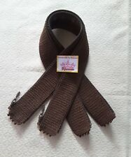 NEW Handle Cover Crochet Handmade for raspail handle bag  Dark Brown