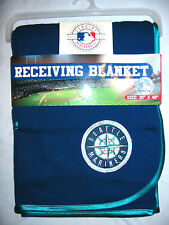 MLB SEATTLE MARINERS BASEBALL Baby Blanket