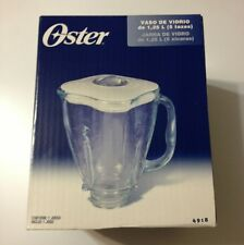 Oster Blender Clover Glass Jar w/Lid Replacement Part 4918 Brand New! Original!