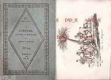 COSTUME ANTICO MODERNO AFRICA 37 ISOLE MASCAREGNE MADAGASCAR INCISIONE 1830