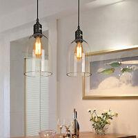 Modern Pendant Light Kitchen Glass Ceiling Lights Shop Bar Chandelier Lighting