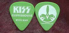 KISS 2008 Coffeehouse Guitar Pick!!! Myrtle Beach #1
