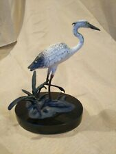 Bronze Egret Sculpture By San Pacific Int.