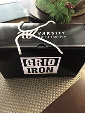 Varsity Grid Iron Cheer Shoes White Size 6