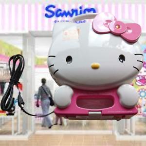 Sanrio Sanrio Hello Kitty Waffle Maker Adorable Workswaffle Kitchen Goods