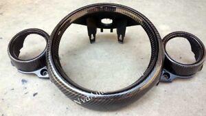 Mini R55, R56, R57, R58, R59 Cooper S JCW Carbon fiber Center Gauge Panel