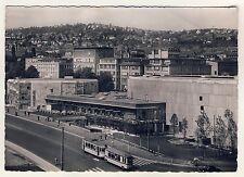 Stoccarda canzoni Halle/posto di Berlino con Tram * FOTO-AK per 1950