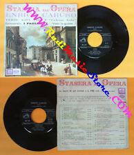 LP 45 7'' ENRICO CARUSO Celeste Aida VERDI I pagliacci LEONCAVALLO no cd mc dvd