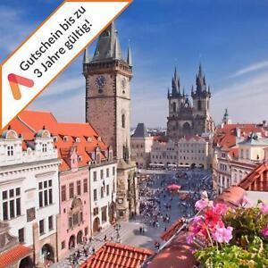 Kurzreise Prag 2 A&O Hotels zur Wahl 2- 5 Tage Gutschein 2 Pers. mit Frühstück