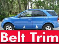nissTITAN truck CHROME SIDE BELT TRIM DOOR MOLDING 04 05 06 07 08 09 2010-2014