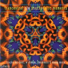 Trancentral Six - Psychedelic Moments - 2CD MIXED - NEUWERTIG - GOA TRANCE