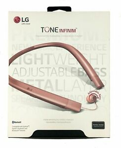 LG TONE INFINIM™ Wireless Stereo Headset HBS 920 - Rose Gold