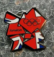 Juegos Olímpicos de Londres 2012 Insignia pin de Unión Jack Nuevo