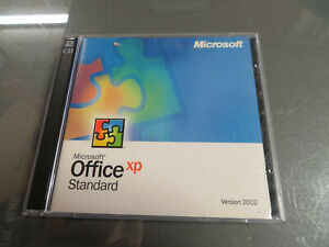 Microsoft Office XP Standard UPGRADE Version 2002 (PC, 1 Disc) WIth Product Key