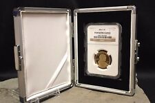 Single Slab Rare Coin Storage Box Display Aluminum PCGS NGC ANACS GUARDHOUSE