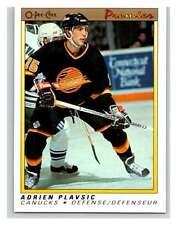 (HCW) 1990-91 OPC Premier #90 Adrien Plavsic Canucks Mint