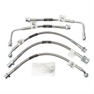 Russell 692120 Brake Lines Street Legal Braided Stainless Chevy Impala SS Kit