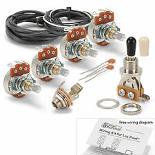 Golden Age Wiring Kit for Gibson Les Paul, with Standard pots