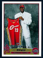 2003-04 Topps LeBRON JAMES Rookie Non Auto RC Lakers GOAT 1st Game!