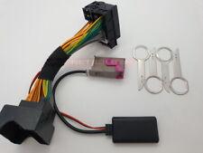 AUDI A3 A4 A6 Adaptador RNS-E Satnav navegación Bluetooth Adaptador Plug & Play de los medios de comunicación