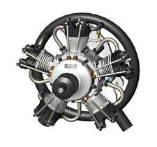 UMS 75cc Gas  5 Cylinder Radial 4 Stroke Engine.  PRE-ORDER Available July 4th